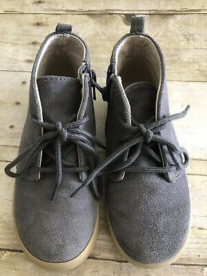EUC GAP Toddler Boys Chukka Color New Shadow Gray Size 11 Suede