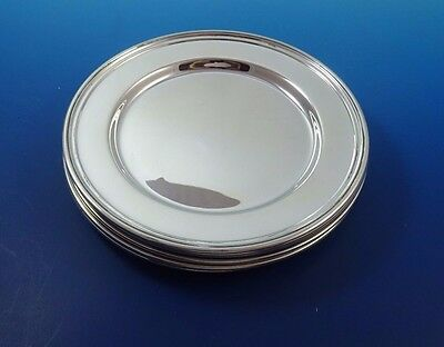 Set of 8 Sterling Silver Bread & Butter Plates by International #H575