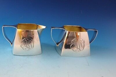 Small Sterling Silver Sugar and Creamer by International
