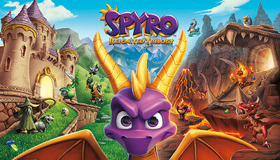Spyro Reignited Trilogy - US/EU/UK/Region Free - [New Steam Account] FULL ACCESS