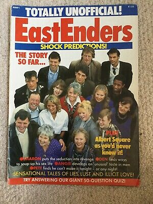 EastEnders Magazine, 1985, Year EE Started, Please See Description