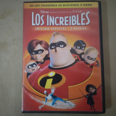 DVD LOS INCREIBLES (THE INCREDIBLES) edición especial 2 discos Disney