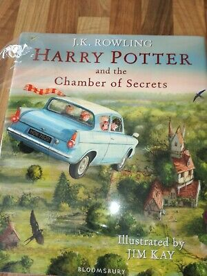 Harry Potter and the Chamber of Secrets: Illustrated Edition by J. K. Rowling...