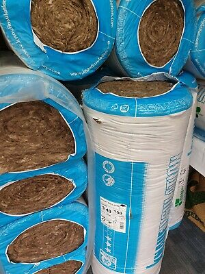 Itch Free Loft Thermal Construction Insulation Roll 8 Metre x W370 mm x T110mm