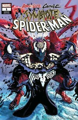 Absolute Carnage Symbiote Spider-Man #1 Mike Mayhew Trade Dress Ltd To 1500 Coa