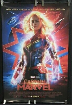Art Poster Captain Marvel 2019 Movie Brie Larson Print Marvel 21 24x36 27x40 002