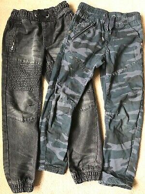 Boys Jeans Combat Cargo Camouflage Trousers Age 5 to 6 Years