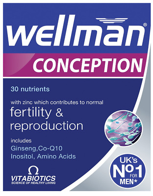 Vitabiotics Wellman Conception For Men, 30 Tablets TRYING FOR A BABY
