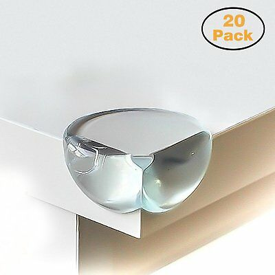 PK 20 Child Baby Corner Furniture Protectors Safety Protection Cushion Guard