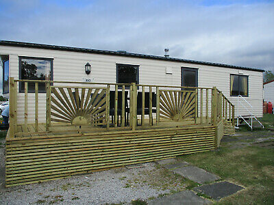 6 Berth Static Caravan Hire Venture Park Morecambe Holiday Home