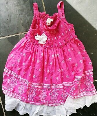 Monsoon GIRLS summer sundress DRESS AGE 18 24 month baby year old toddler cotton