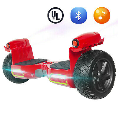 """8,5"""" Electric Self Balancing Scooter Off Road Hover Board Spray Bluetooth+LED"""