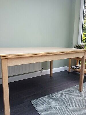 Danish made extending Dining table