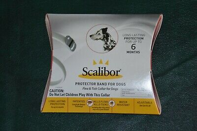 Scalibor Flea & Tick Collar For Dogs, Lasts Up To 6 Months, One Size Fits All