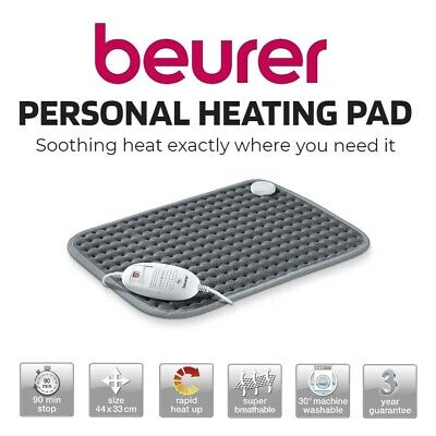Heat Pad Arthritis Joint Pain Back Relief Electric Heating Mat Beurer Bed Warmer