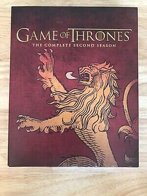 Game of Thrones: Season 2 Best Buy Exclusive House Lannister Sigil - Like New