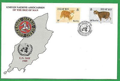 UN Association Isle Of Man Special United Nations Day Cover 24th October 1989