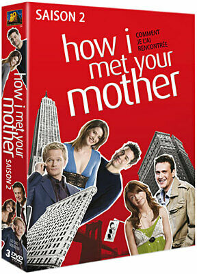 Série TV - HOW I MET YOUR MOTHER - L'intégrale de la Saison 2 // Coffret 3 DVD