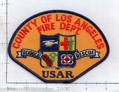 California - Los Angeles County CA USAR Fire Dept Patch - Technical Rescue