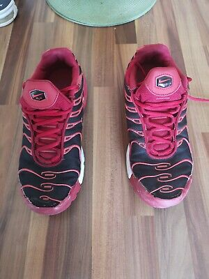 2008 WMNS NIKE AIR MAX PLUS TN TUNED 'BlackAnthracite sport red' UK7US9.5