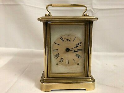 19th Century Ansonia Eight Day Time Carriage Clock