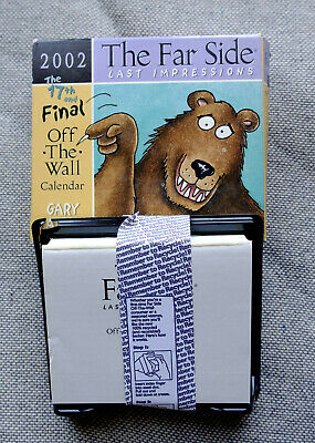 Gary Larson The Far Side 2002 Off the Wall Calendar - 17th and Final