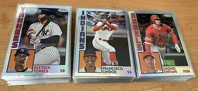 2019 Topps Chrome 1984 Topps Refractor Insert Singles - You Pick - Complete Your