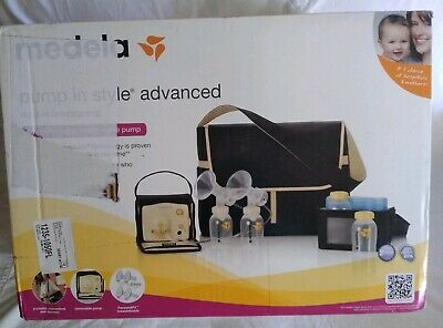 Medela Pump In Style Advanced Double Electric Breast Pump Metro Bag *Never Used*