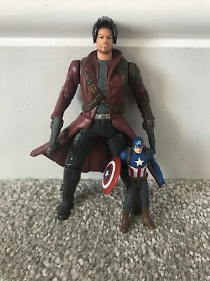 Guardians of the Galaxy Figure PETER QUILL Star-Lord & Free Captain America