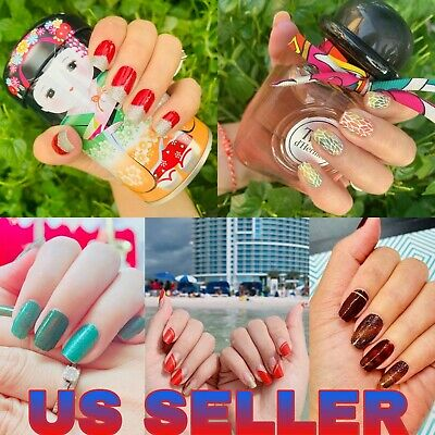 Color Nail Polish Strips BUY 2 GET 2 FREE Nail Wraps Exclusive US SELLER
