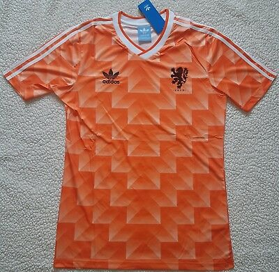 1988 Netherlands Home Retro Football Soccer Shirt Jersey Vintage Holland Classic