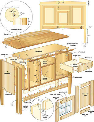DIY 1000s Carpentry Woodwork 20gb 7 Dvds Schematic Diagrams Blueprints Pdfs avis