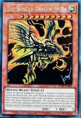 Yugioh The Winged Dragon of Ra Prismatic TN19 8/30 Mint PreOrder August 30th