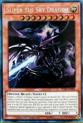 Yugioh Slifer the Sky Dragon Prismatic Secr TN19 8/30 Mint PreOrder August 30th