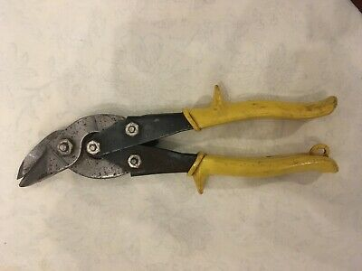 Wiss M-41R Pipe & Duct Snips Tinsmith Cabinetmaker Cuts Sheet Metal