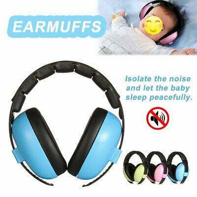 Adjustable Baby Ear Muffs Noise Cancelling Reducing Earmuffs Hearing Protect #T