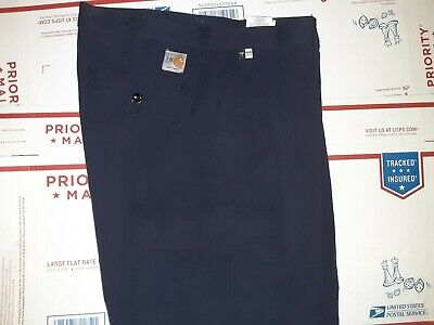 Carhartt fr Navy Blue Pants Relaxed Fit 371-20