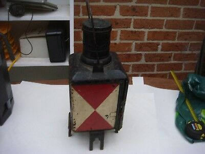 Railway Lamp Come With Burner Very Nice Piece