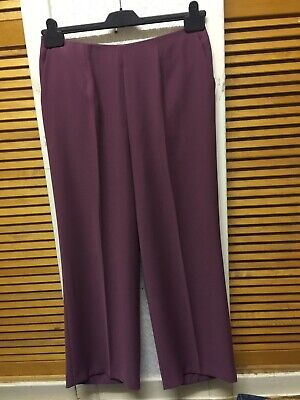 MARKS &Spencer Ladies Polyester Blend Summer Trouser Suit SIZE U.K 14 Medium""