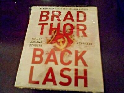 Backlash: A Thriller by Brad Thor: Audio book (9 CD's, 11.5 Hours, Unabridged)