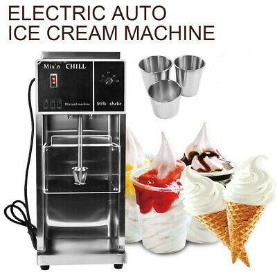 Commercial Electric Auto Ice Cream Mixing Machine Maker Shaker Blender Mixer