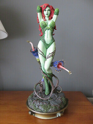 Poison Ivy Green With Envy Premium Format Statue by Sideshow Collectibles