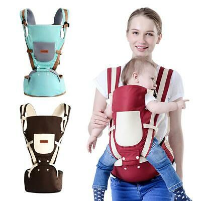 Adjustable Newborn Infant Baby Carrier Breathable Ergonomic Wrap Sling Backpack