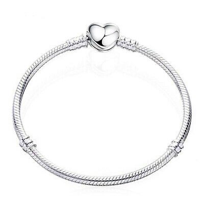Women Fashion Style Silver 3mm Chain Snake Bangle Bracelet Gold Rose Jewelry