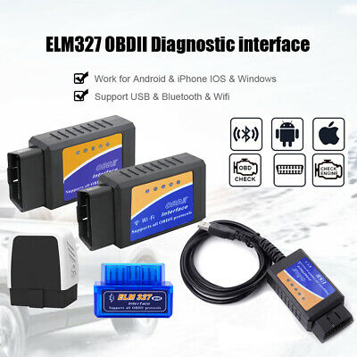 ELM327 Mini Bluetooth wifi OBDII Scanner Auto Car OBD2 Diagnostic Interface Tool