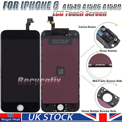 For iPhone 6 4.7'' Screen Replacement LCD Display Touch Digitizer Assembly Black