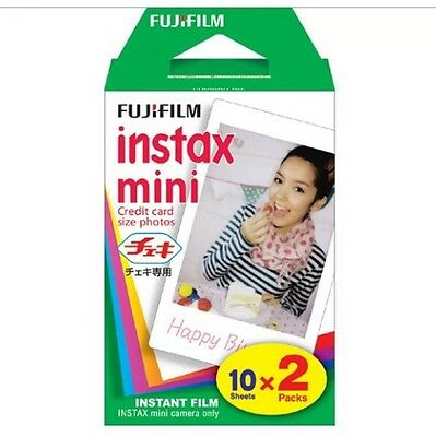 UNABLE To POST!!! 20 Shots Instax Mini Film for Fujifilm 8 7s & Mini 90 20 Shots