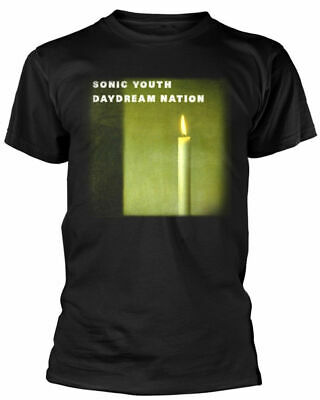 Official Sonic Youth T Shirt Daydream Nation Black Mens Classic Punk Rock Tee