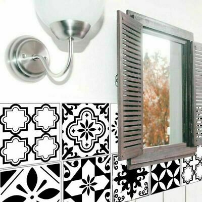 Self Adhesive Tile Art Wall Vinyl Decal Stickers Kitchen Bathroom High Quality#w