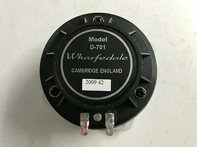 1 x Wharfedale D-701 8ohms complete replacement HF Driver for Titan 12 and 15